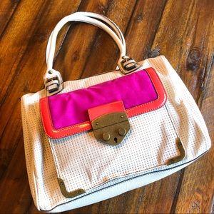 Jessica Simpson NWOT Perforated Vegan Leather Bag